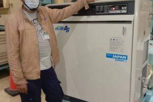 Service Air Screw Compressor onsite